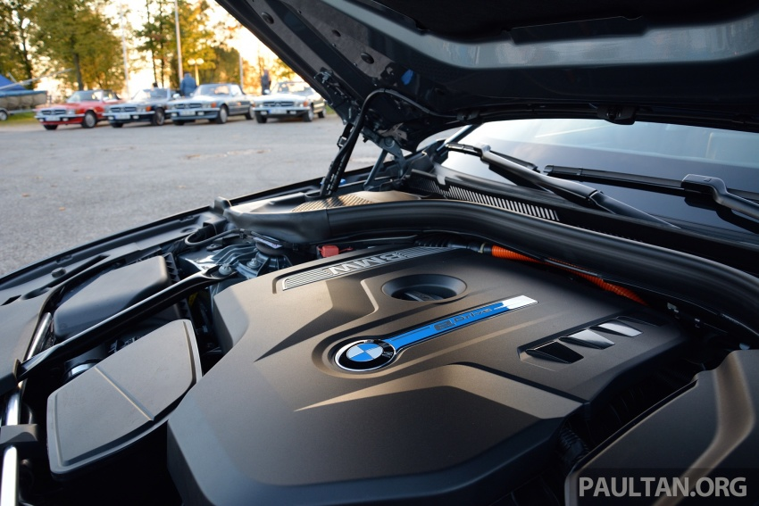 DRIVEN: G30 BMW 530e iPerformance plug-in hybrid Image #758404