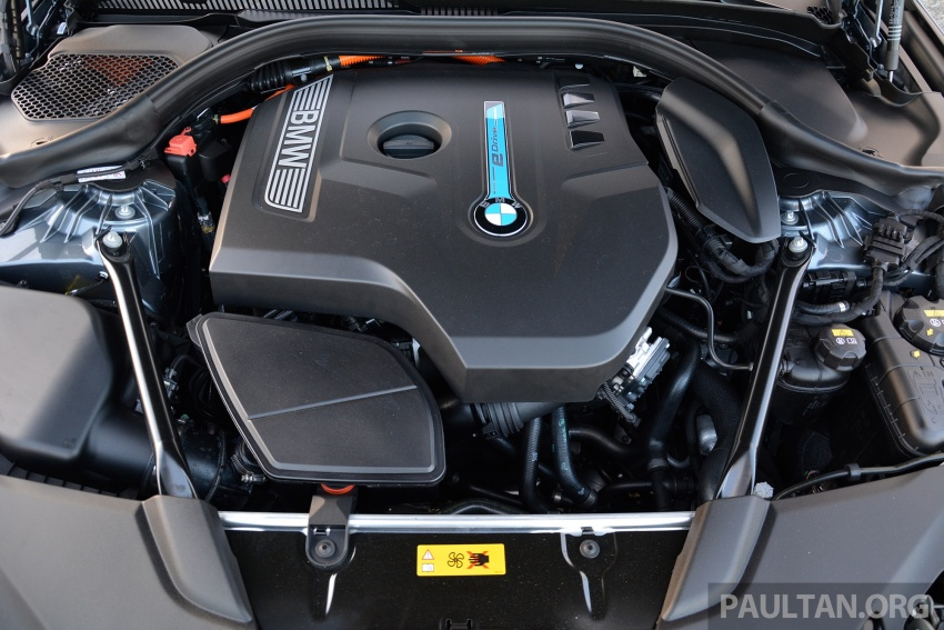 DRIVEN: G30 BMW 530e iPerformance plug-in hybrid Image #758411