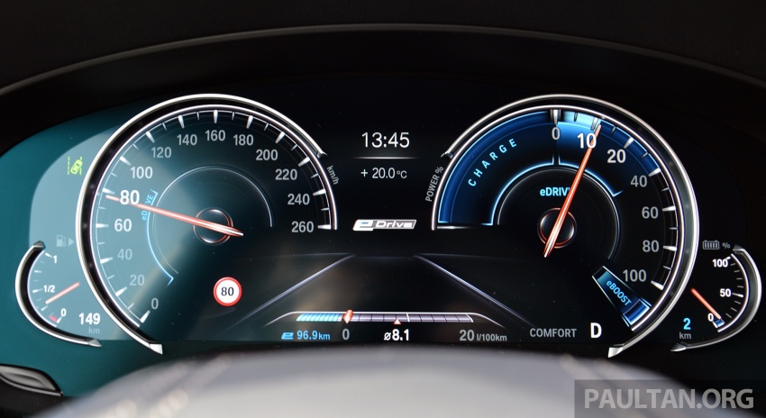 DRIVEN: G30 BMW 530e iPerformance plug-in hybrid Image #758420