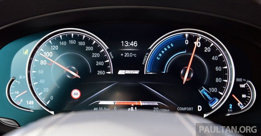 DRIVEN: G30 BMW 530e iPerformance plug-in hybrid Image #758423