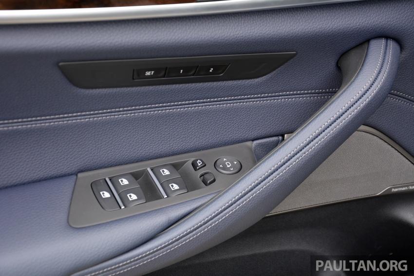 DRIVEN: G30 BMW 530e iPerformance plug-in hybrid Image #758426