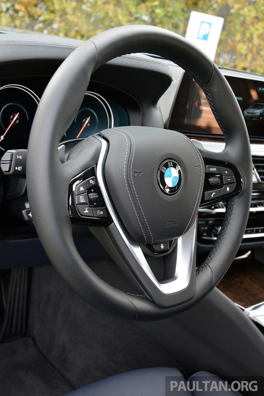 DRIVEN: G30 BMW 530e iPerformance plug-in hybrid Image #758434