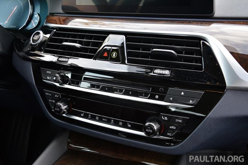 DRIVEN: G30 BMW 530e iPerformance plug-in hybrid Image #758437