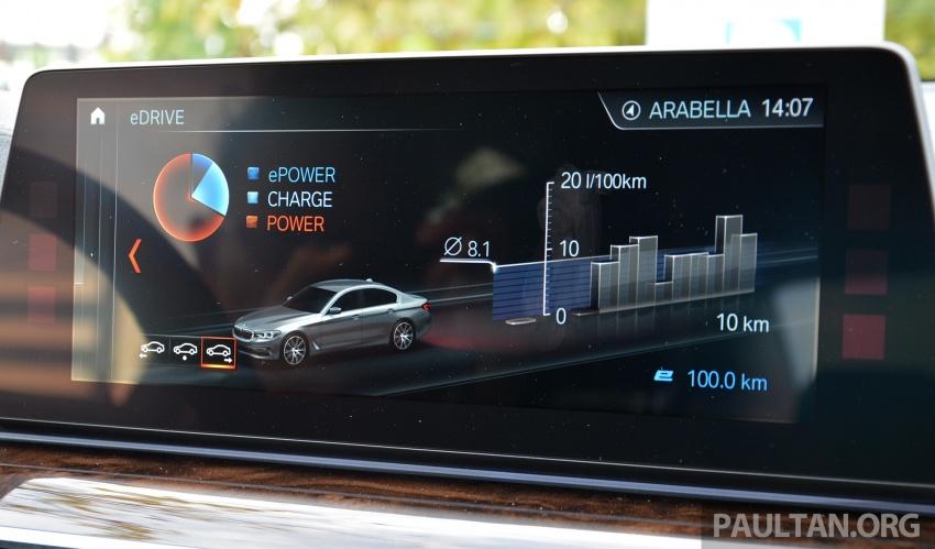 DRIVEN: G30 BMW 530e iPerformance plug-in hybrid Image #758440