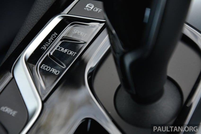 DRIVEN: G30 BMW 530e iPerformance plug-in hybrid Image #758441