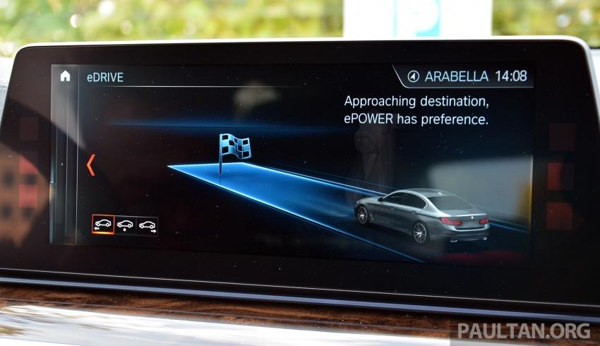 DRIVEN: G30 BMW 530e iPerformance plug-in hybrid Image #758444