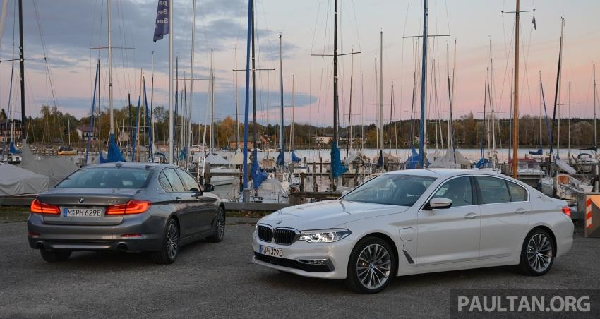 DRIVEN: G30 BMW 530e iPerformance plug-in hybrid Image #758361
