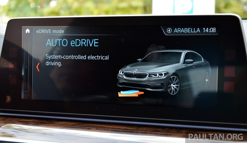 DRIVEN: G30 BMW 530e iPerformance plug-in hybrid Image #758445