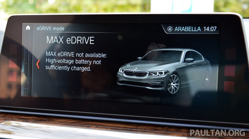 DRIVEN: G30 BMW 530e iPerformance plug-in hybrid Image #758448