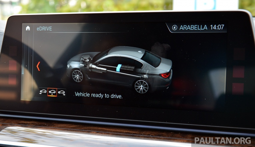 DRIVEN: G30 BMW 530e iPerformance plug-in hybrid Image #758452