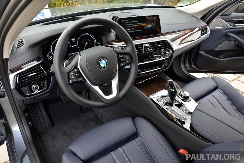 DRIVEN: G30 BMW 530e iPerformance plug-in hybrid Image #758362