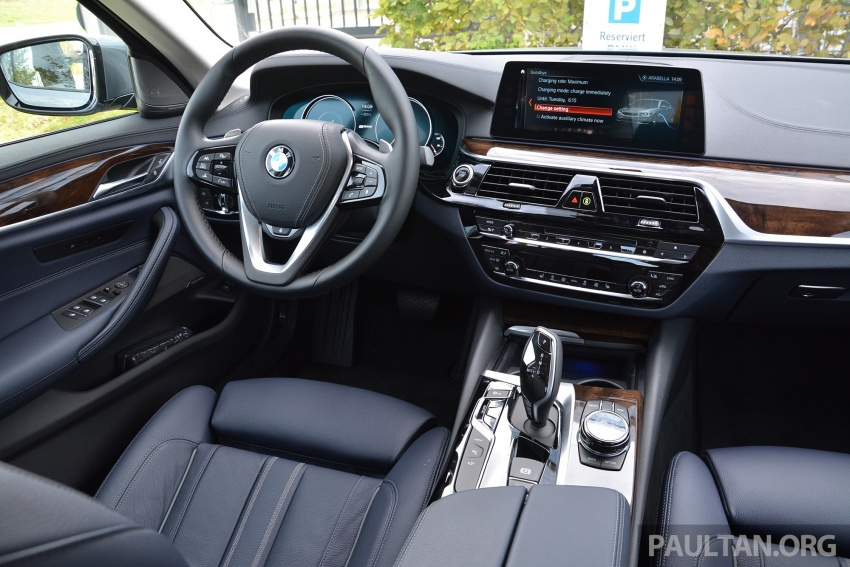 DRIVEN: G30 BMW 530e iPerformance plug-in hybrid Image #758364