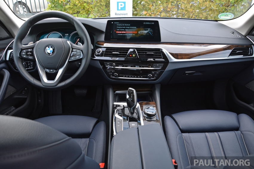 DRIVEN: G30 BMW 530e iPerformance plug-in hybrid Image #758367