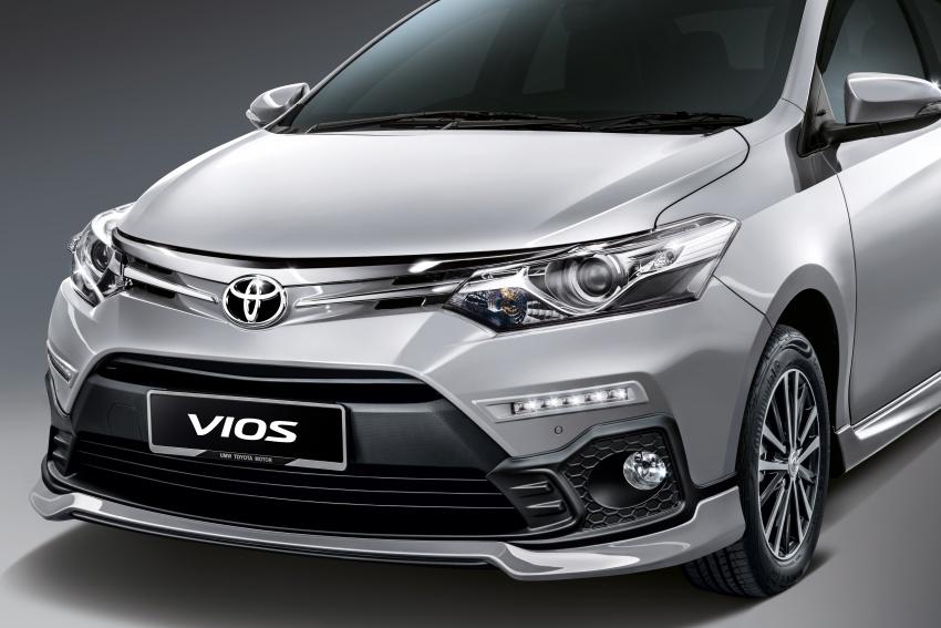 Toyota Vios dipertingkat untuk 2018 – rekaan bodykit baru, dibuka untuk tempahan, harga dari RM74,980 Image #756691