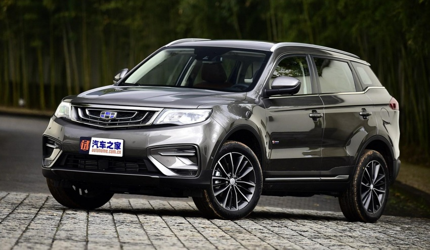 Geely Boyue facelift previewed in China – new features Image #769322
