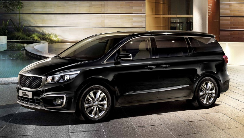 Kia Grand Carnival CKD – same price, more features Image #758565