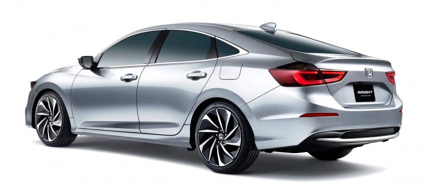 Honda Insight generasi baharu – lebih imej dan perincian didedahkan sebelum muncul di Detroit Image #761512
