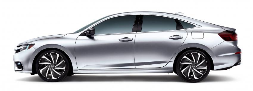 Honda Insight generasi baharu – lebih imej dan perincian didedahkan sebelum muncul di Detroit Image #761513