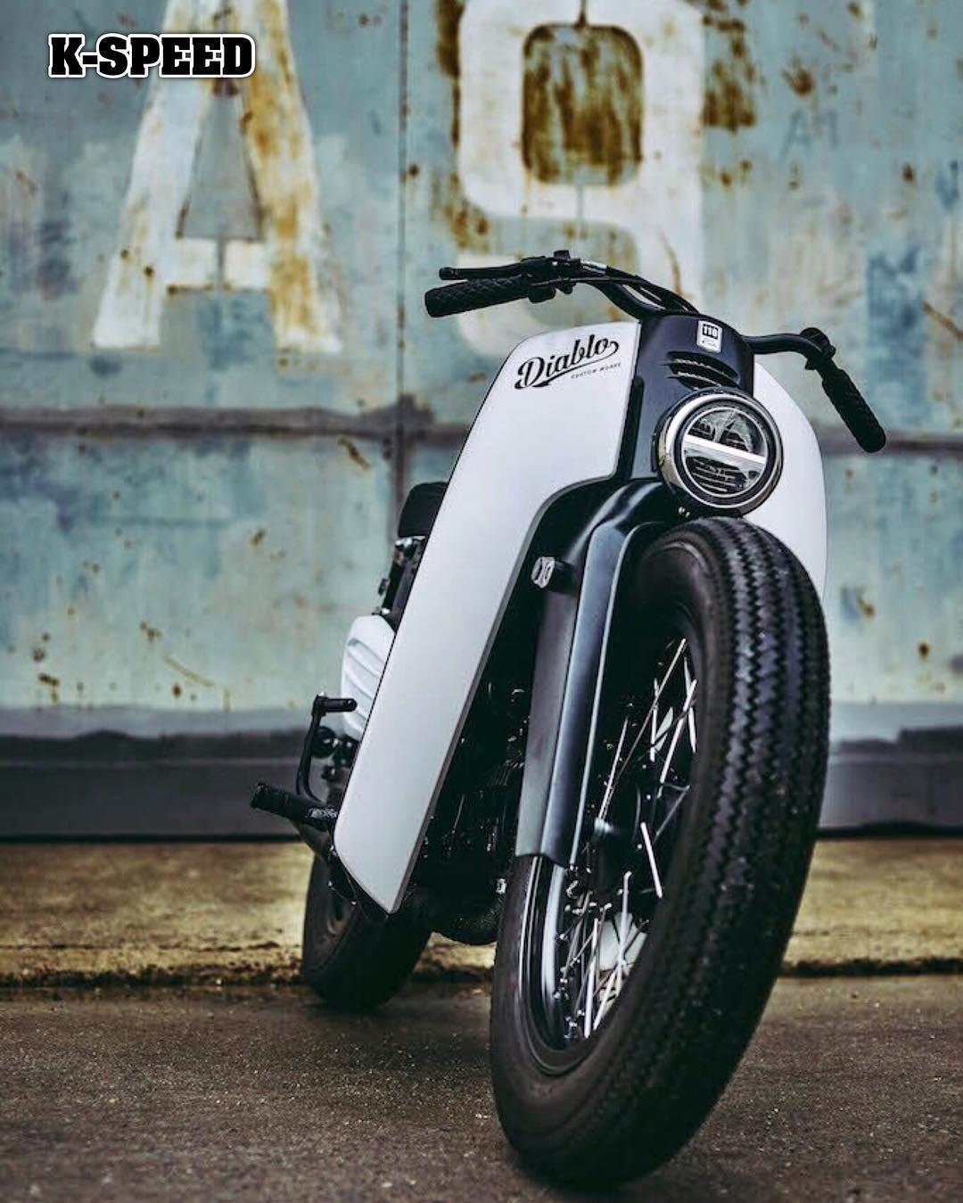Honda Cafe Racer Bm Vintage
