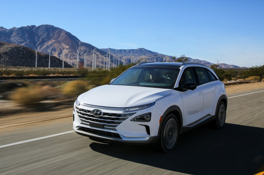 Hyundai Nexo – hydrogen fuel cell EV debuts at CES Image #758242