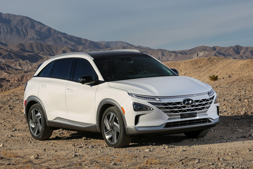 Hyundai Nexo – hydrogen fuel cell EV debuts at CES Image #758255