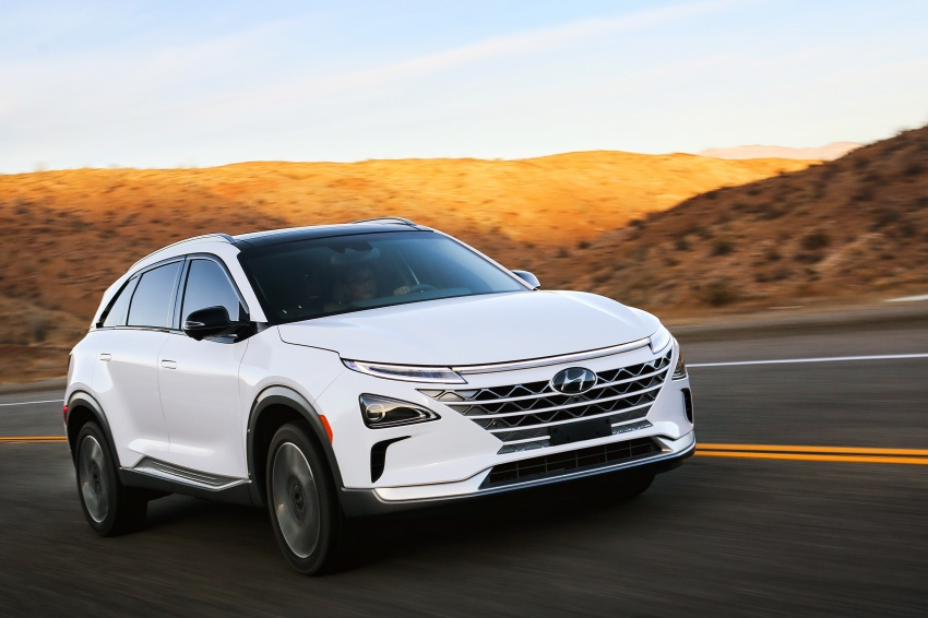 Hyundai Nexo – hydrogen fuel cell EV debuts at CES Image #758271