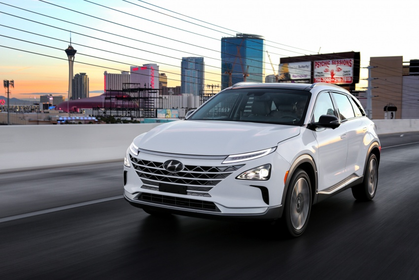 Hyundai Nexo – hydrogen fuel cell EV debuts at CES Image #758272