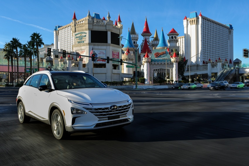 Hyundai Nexo – hydrogen fuel cell EV debuts at CES Image #758281