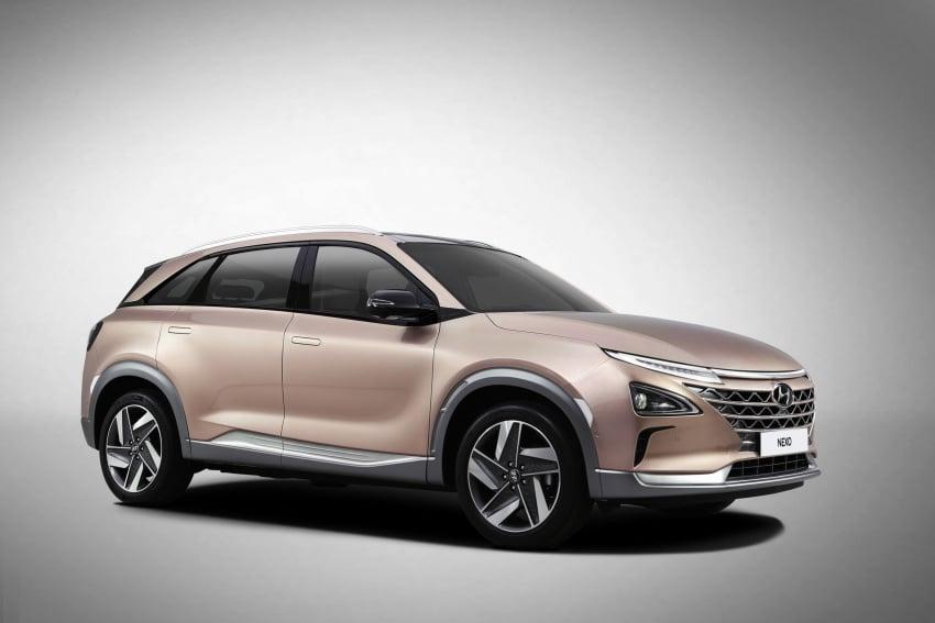 Hyundai Nexo – hydrogen fuel cell EV debuts at CES Image #758292