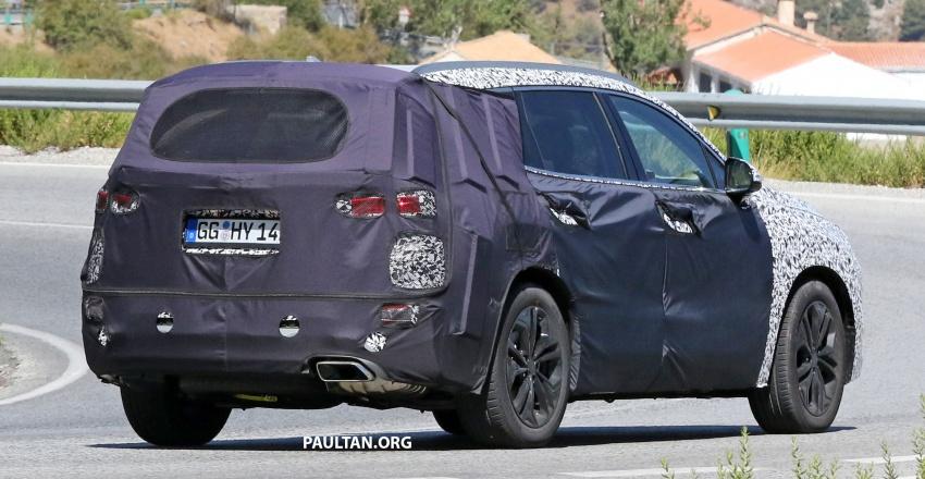 Hyundai tunjukkan teaser Santa Fe generasi keempat Image #771081