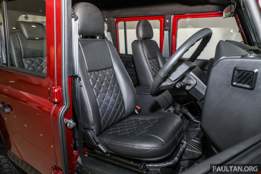 Land Rover Defender – final commemorative edition of 12 units introduced in Malaysia, three special colours Image #767891