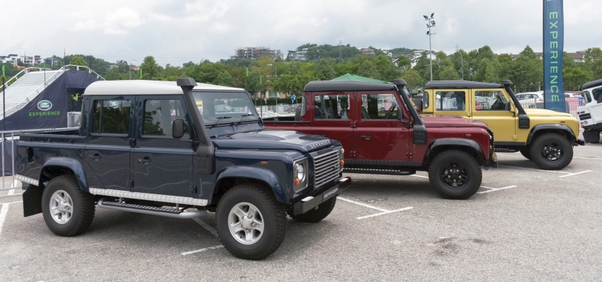 Land Rover Defender – final commemorative edition of 12 units introduced in Malaysia, three special colours Image #767909