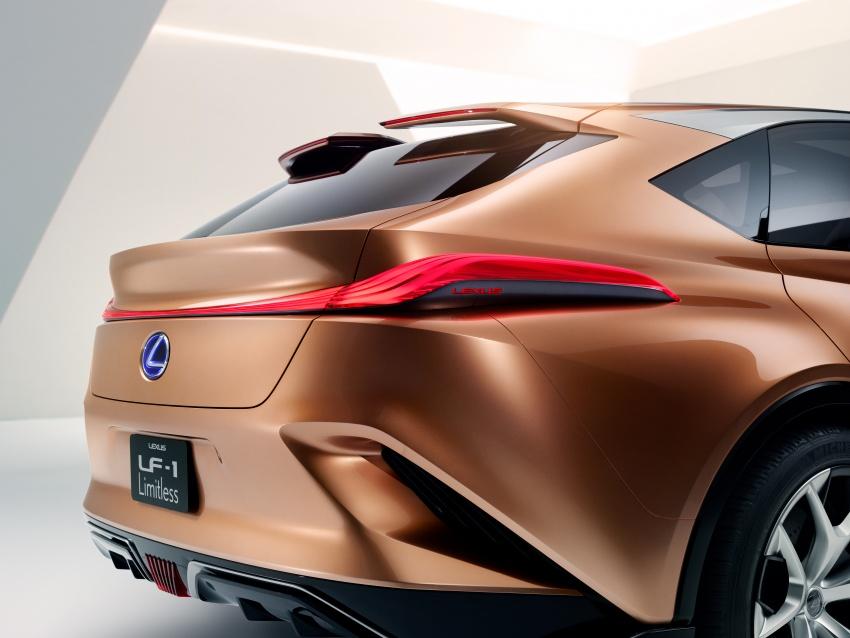 Lexus LF-1 Limitless concept unveiled at Detroit show Image #763356