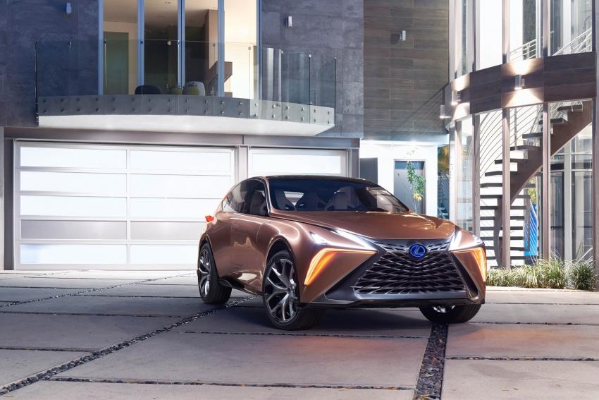 Lexus LF-1 Limitless concept unveiled at Detroit show Image #763366