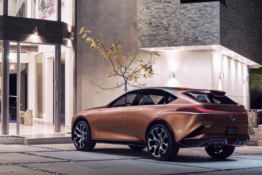 Lexus LF-1 Limitless concept unveiled at Detroit show Image #763369