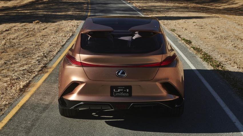 Lexus LF-1 Limitless concept unveiled at Detroit show Image #763405