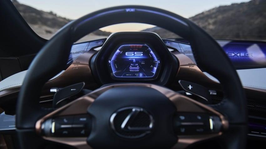 Lexus LF-1 Limitless concept unveiled at Detroit show Image #763409