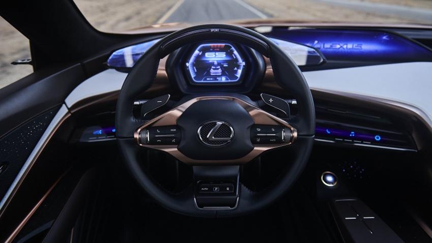 Lexus LF-1 Limitless concept unveiled at Detroit show Image #763412