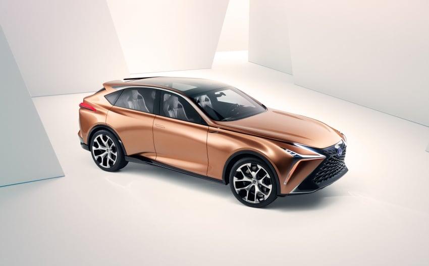 Lexus LF-1 Limitless concept unveiled at Detroit show Image #763350