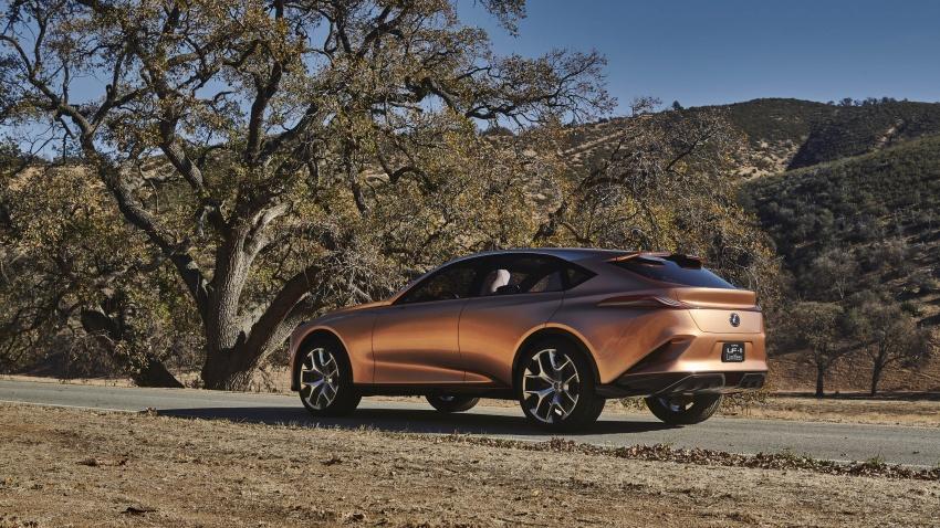 Lexus LF-1 Limitless concept unveiled at Detroit show Image #763424