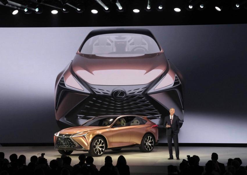 Lexus LF-1 Limitless concept unveiled at Detroit show Image #763428