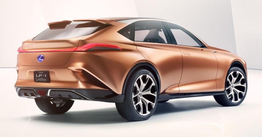 Lexus LF-1 Limitless concept unveiled at Detroit show Image #763351