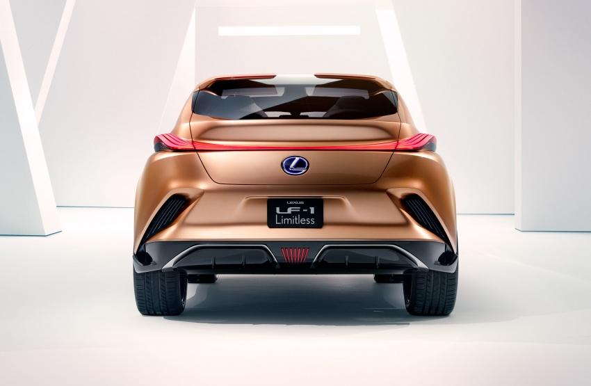 Lexus LF-1 Limitless concept unveiled at Detroit show Image #763352