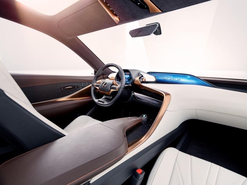 Lexus LF-1 Limitless concept unveiled at Detroit show Image #763353