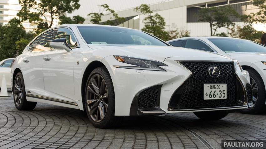 DRIVEN: 2018 Lexus LS – we test its semi-autonomous driving features on the highways of Yokohama Image #760427