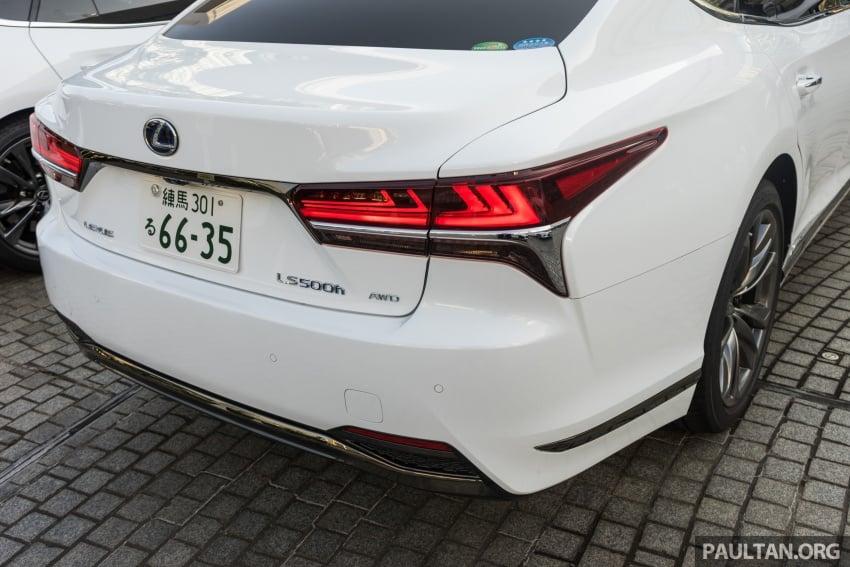 DRIVEN: 2018 Lexus LS – we test its semi-autonomous driving features on the highways of Yokohama Image #760440
