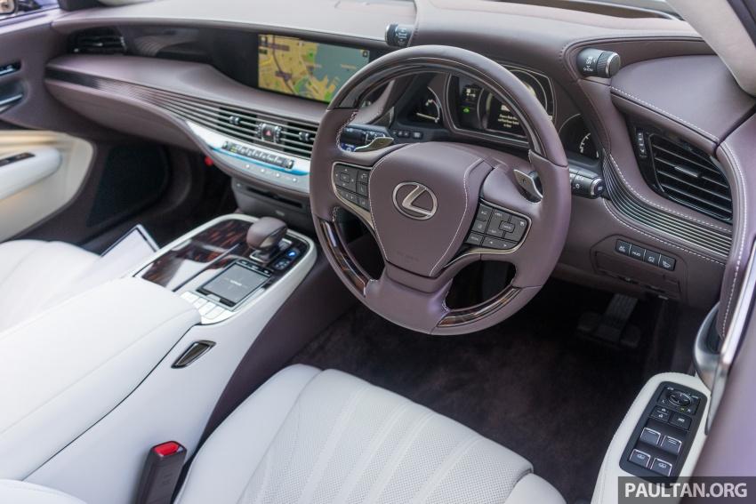 DRIVEN: 2018 Lexus LS – we test its semi-autonomous driving features on the highways of Yokohama Image #760444