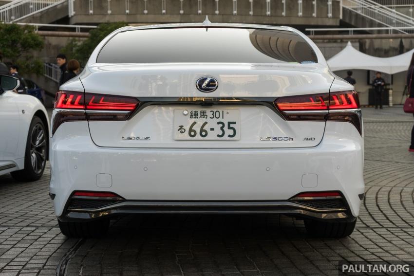 DRIVEN: 2018 Lexus LS – we test its semi-autonomous driving features on the highways of Yokohama Image #760431