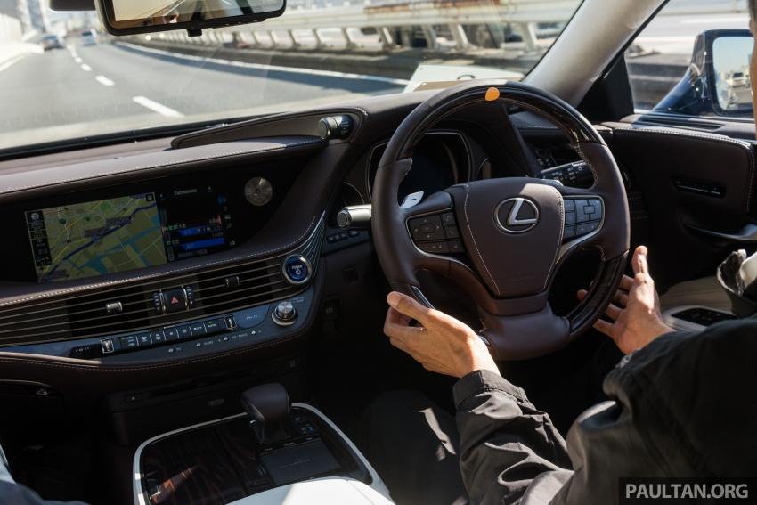 DRIVEN: 2018 Lexus LS – we test its semi-autonomous driving features on the highways of Yokohama Image #760478