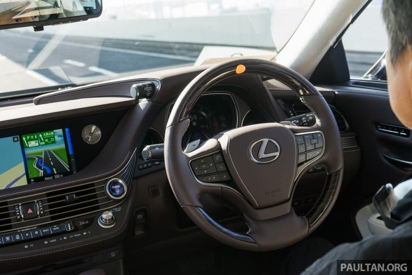 DRIVEN: 2018 Lexus LS – we test its semi-autonomous driving features on the highways of Yokohama Image #760480